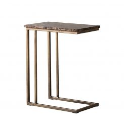 Pavilion Chic Supper Table Lima in Marble