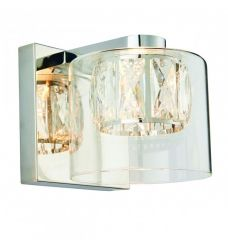 Pavilion Chic Wall Light Appollo in Crystal Glass