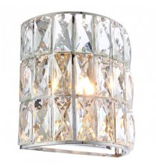 Pavilion Chic Wall Light Appollo Jewelled Crystal