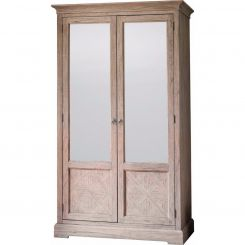 Pavilion Chic Wardrobe Cotswold with Mirrored Doors