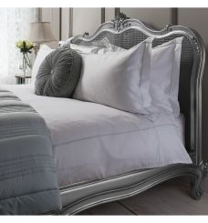 Pavilion Chic White & Duck Egg Bed Linen Collection
