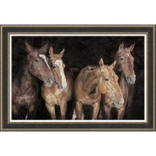 Pavilion Art Quartet By Debbie Boon - Limited Edition Framed Print