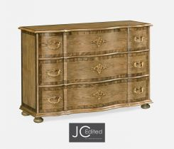 Jonathan Charles Chest of Drawers English Serpentine