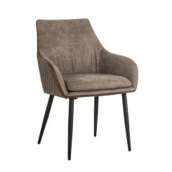 Richmond Dining Chair Chrissy in Quilted PU Leather