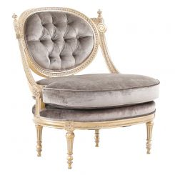 Duresta Romanov Chair Viceroy Mink