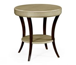 Jonathan Charles Round Side Table Art Deco