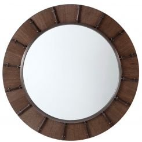 Theodore Alexander Round Wall Mirror Niccolo