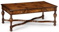 Jonathan Charles Coffee Table Cottage with X-Frame