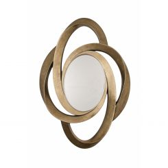 RV Astley Mirror Lazio in Gold Leaf
