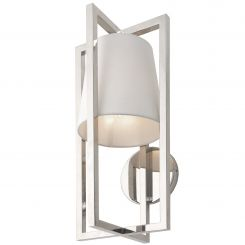 RV Astley Wall Light Hurricane in Nickel