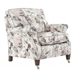 Duresta Clearance Armchair Sasha in Water Garden Blush