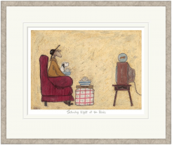 Pavilion Art Saturday Night At The Movies By Sam Toft - Limited Edition Framed Print