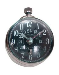 Authentic Models Eye of Time Clock Silver