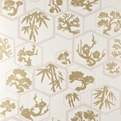 Farrow and Ball Wallpaper Shouchikubai