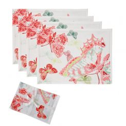 SIA Placemat Colour Party Set Of 4 Length 48cm