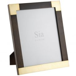 SIA Photo Frame Golden Brown Height 29cm
