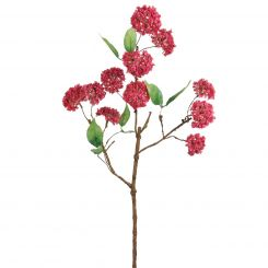 SIA Snowball Branch Dark Pink Height 76cm