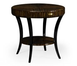Jonathan Charles Side Table with Drawer Lustre