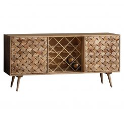Pavilion Chic Sideboard with Wine Rack Morocco