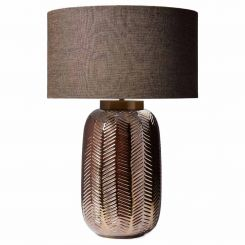 Heathfield & Co. Fern Table Lamp