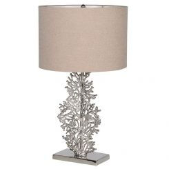 Pavilion Chic Silver Bodhi Table Lamp