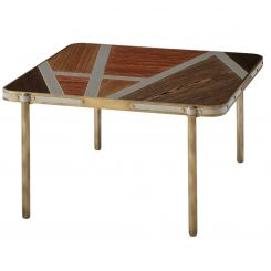 Theodore Alexander Square Coffee Table Iconic