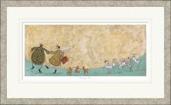 Pavilion Art Strictly Fun by Sam Toft - Limited Edition Framed Print