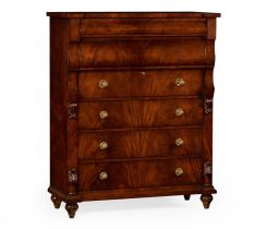 Jonathan Charles Tall Chest of Six Drawers Georgian