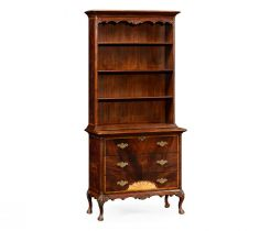 Jonathan Charles Tall Bookcase on Chest George III