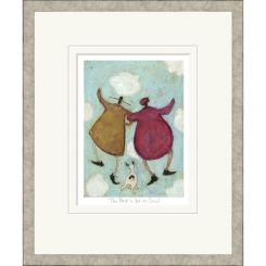 Pavilion Art The Best Is Yet To Come by Sam Toft - Limited Edition Framed Print