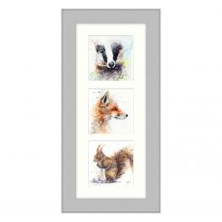 Pavilion Art The Good, The Glad & The Squirrely by Lisa Jayne Holmes - Framed Print