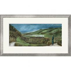 Pavilion Art The Viaduct by Joe Ramm - Limited Edition Framed Print
