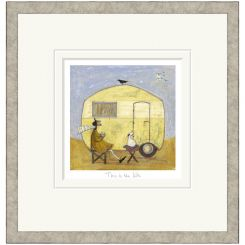 Pavilion Art This Is The Life by Sam Toft - Limited Edition Framed Print