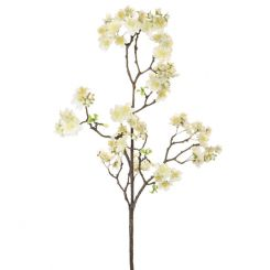 Pavilion Flowers Artificial Cherry Blossom White Height 115cm