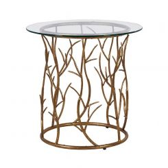 Pavilion Chic Vine Circular Table