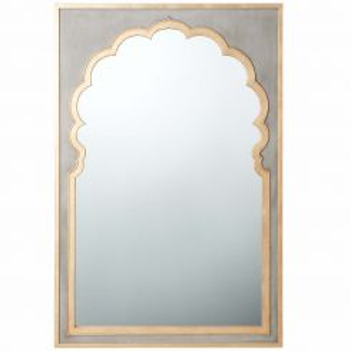 Theodore Alexander Wall Mirror Jaipur - Grey