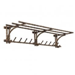 Eichholtz Wall Mounted Coat Rack Haiti in Vintage