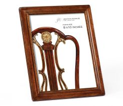 Jonathan Charles 8x10 Picture Frame Cottage in Medium Walnut