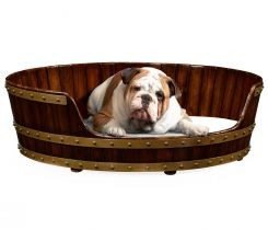 Jonathan Charles Large Dog Bed in Irish Peat Bucket Style