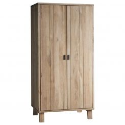 Pavilion Chic Wardrobe Saratov in Solid Oak