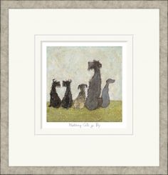 Pavilion Art Watching Cats Go By by Sam Toft - Limited Edition Framed Print