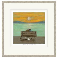 Pavilion Art Watching The Tide Roll Away by Sam Toft - Limited Edition Framed Print