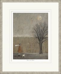 Pavilion Art Wax and Wane by Sam Toft - Limited Edition Framed Print