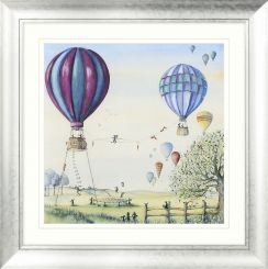 Pavilion Art With Friends All Things Are Possible SE by Catherine Stephenson - Framed Print