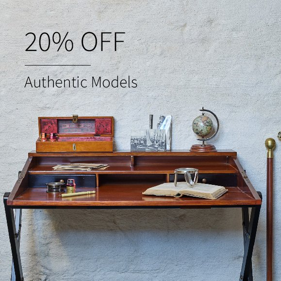 20% off Authentic Models