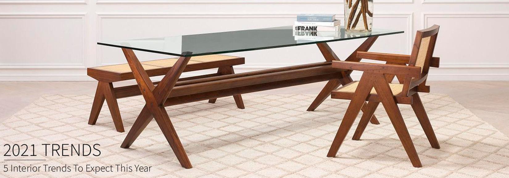 Interior Design & Furniture Trends 2021