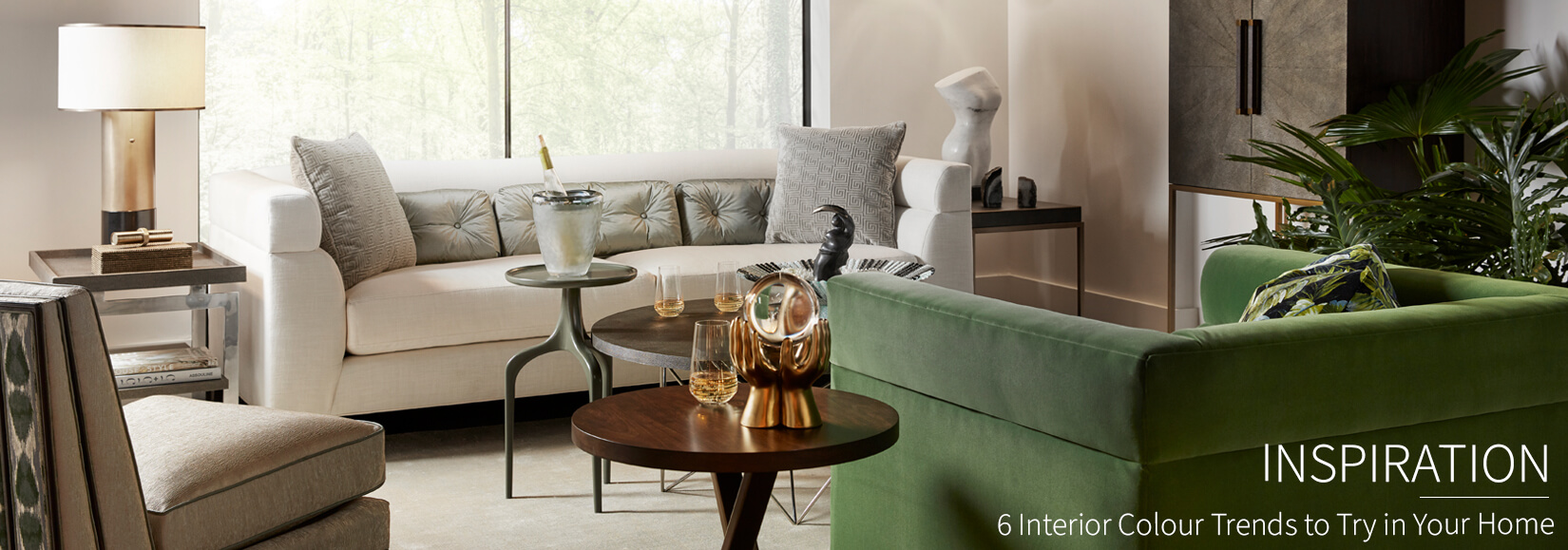 6 Interior Colour Trends to Try in Your Living Room, Bedroom and More