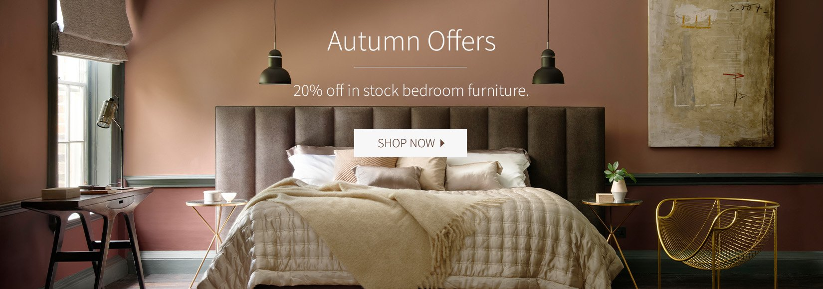 20% Off Bedroom Furniture