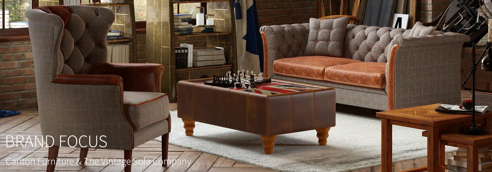 Carlton Furniture & The Vintage Sofa Company: Brand Focus