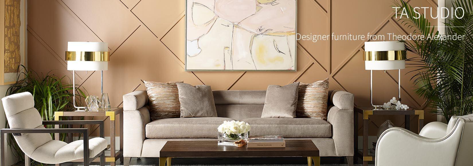 TA Studio Designer Furniture by Theodore Alexander